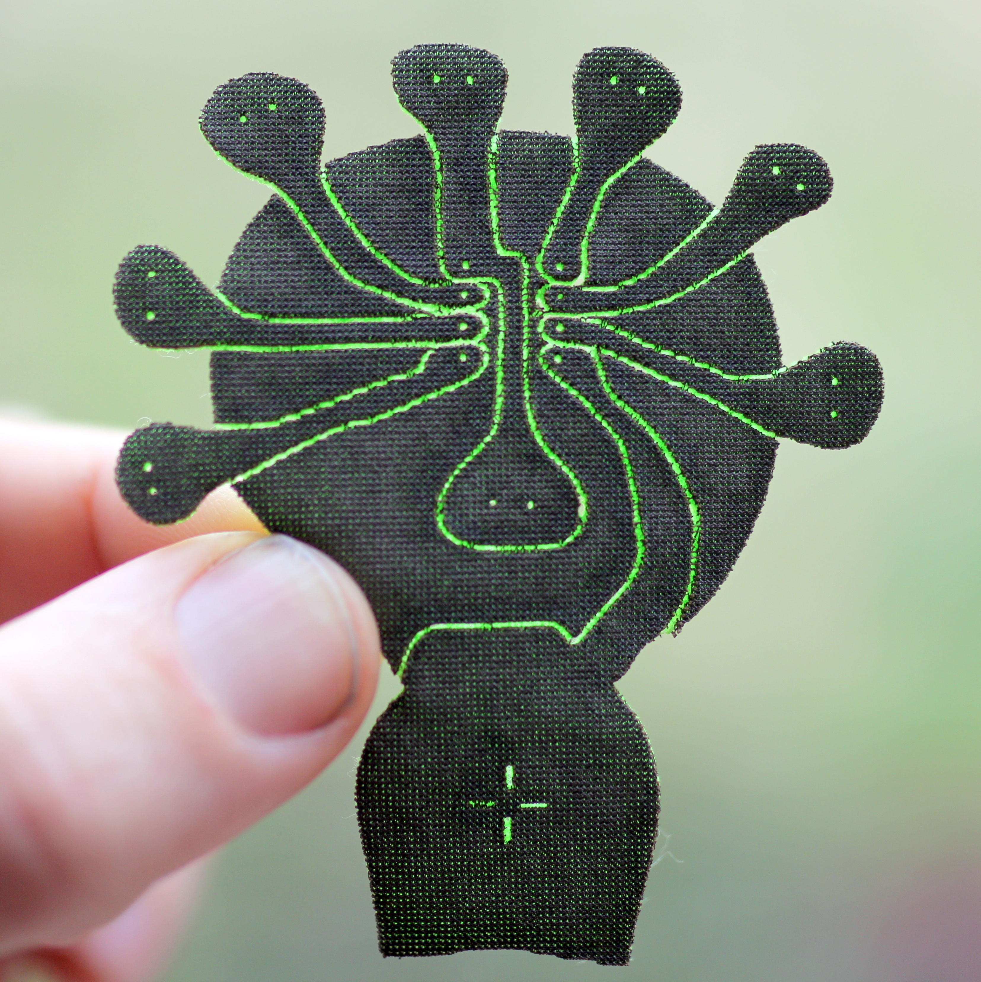 Picture of Lilypatch: Quick Laser Cut Soft Circuit Breakout
