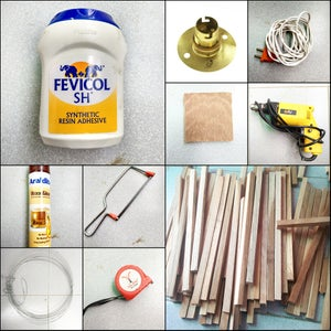 Material and Tools Required