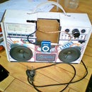 My Cardboad Stereo Speaker for MP3 player and My Cellphone