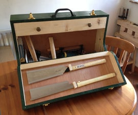 Beginning Woodworking Part 2: Fall Front Wooden Toolbox