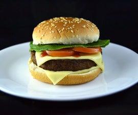 The Perfect Burger Photo