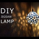 DIY Jigsaw Lamp