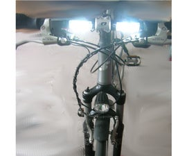 LED-Day-Drive-Light for your bicycle