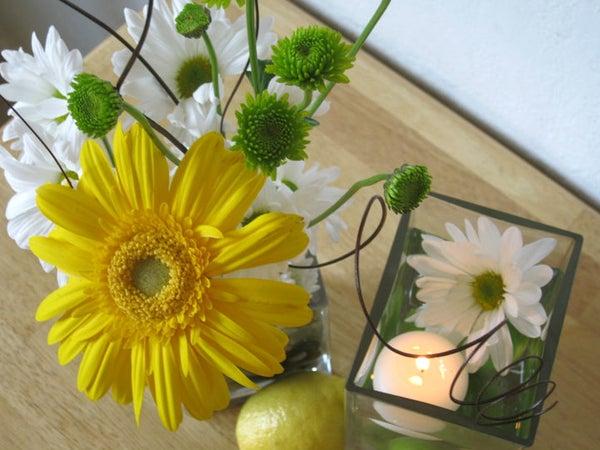 Fruit/Flower Wedding Centerpiece