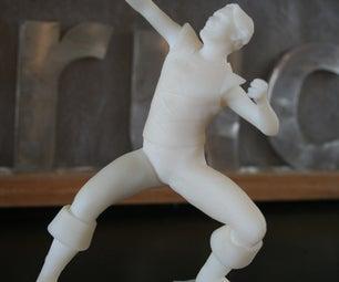 """E. Killhelm"" Action Figure"