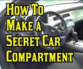 Make a Secret Car Compartment!