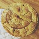 Cookie Cutter Crust Apple Pie