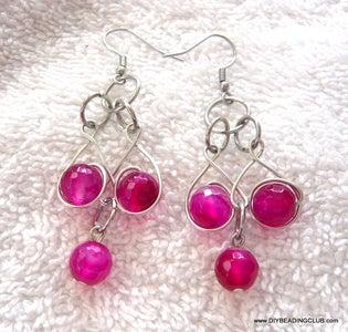 Cherry Dangling Earrings