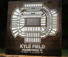 How to Make a Carved Stadium Sign on a CNC