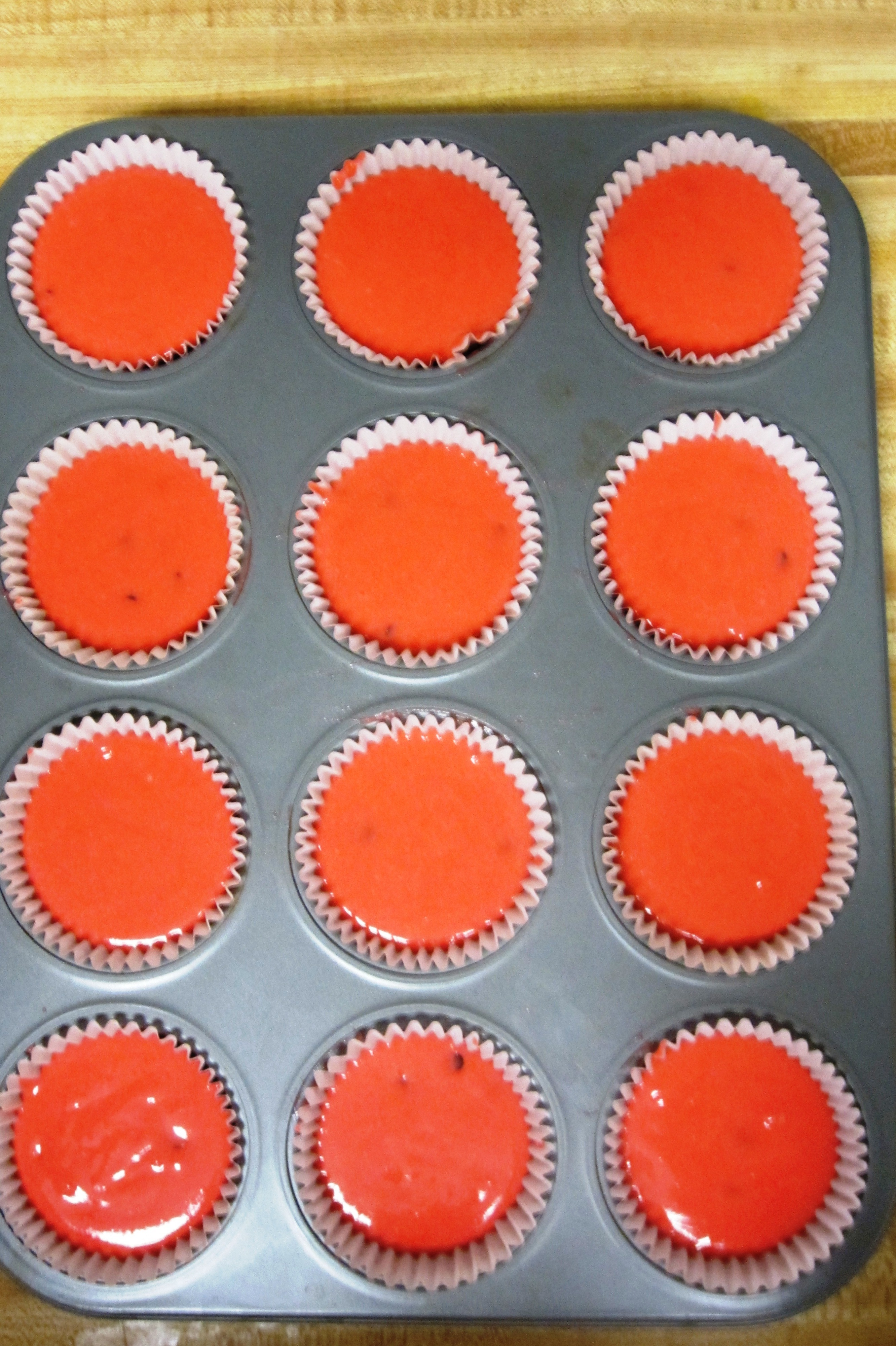Picture of Making the Cupcake