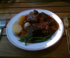 Campsite Hearty Beef Stew