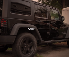 How to Plasti Dip Jeep Wrangler Wheels (without removing the wheels)