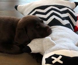 Roadkill Raccoon Dog Pillow