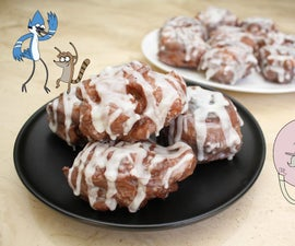 Double Glazed Apple Fritters (The Regular Show)