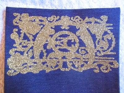 Embellishment: Cricut Cutting and Ironing