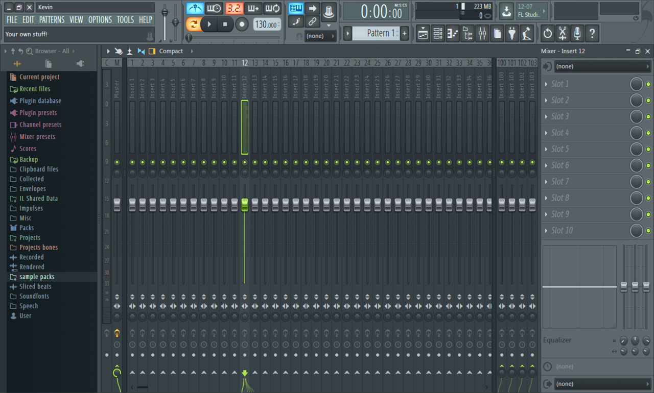Picture of Mixer Track