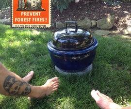 Swanky BBQ Fire Pit .......