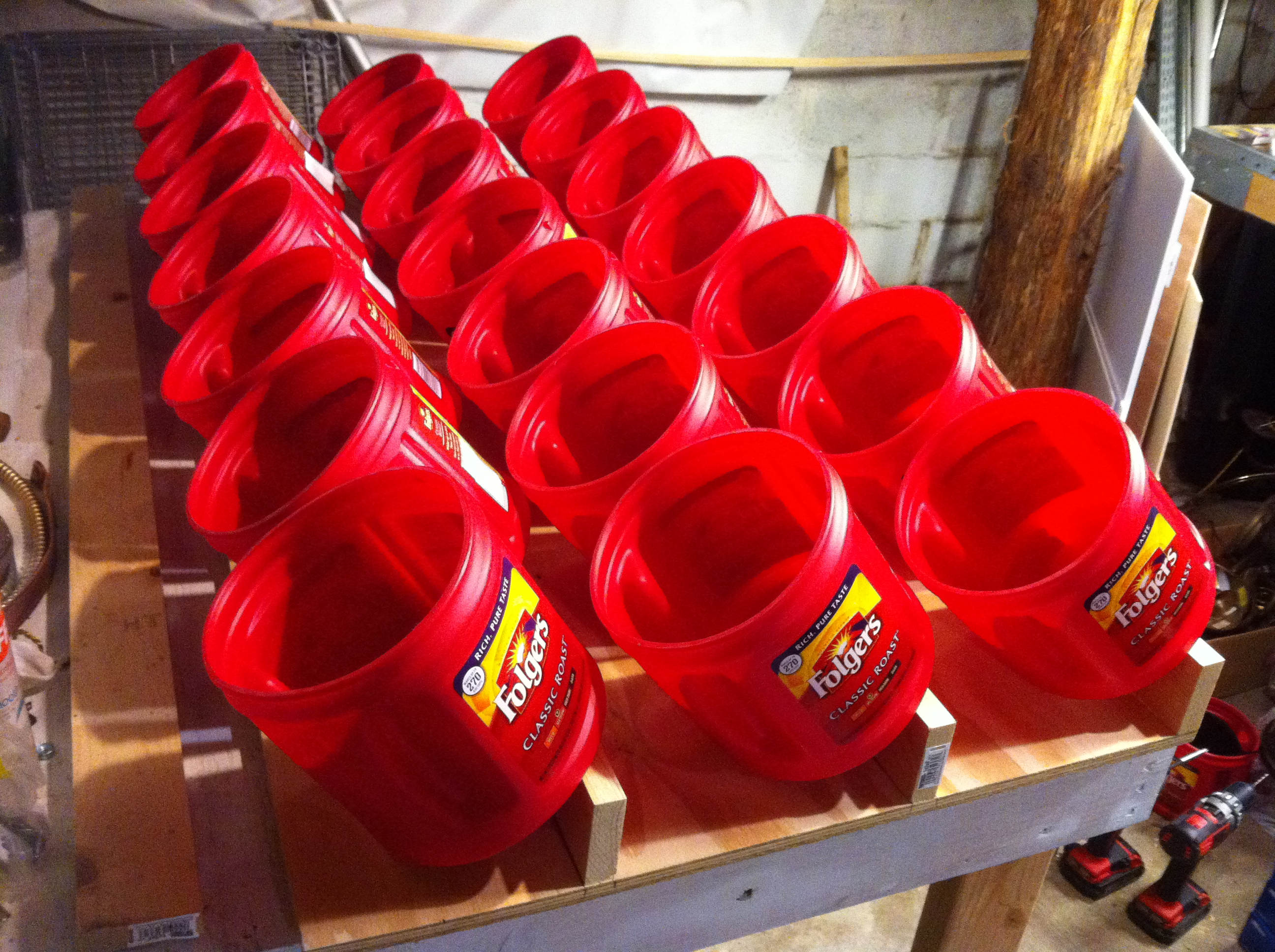 Picture of Hang the Containers and Fill 'em Up With Stuff
