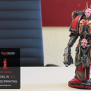 Print a Chaos Space Marine 3D Model and Paint at Home