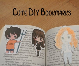 Cute Magnetic D-I-Y Bookmarks