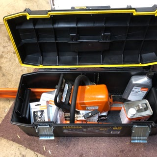 Toolbox Into Chainsaw Case