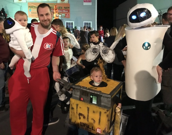 Picture of Wall E Family Costume
