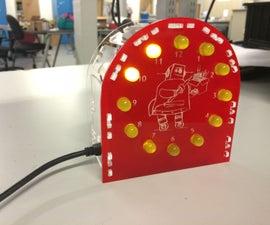 Arduino-powered LED Clock