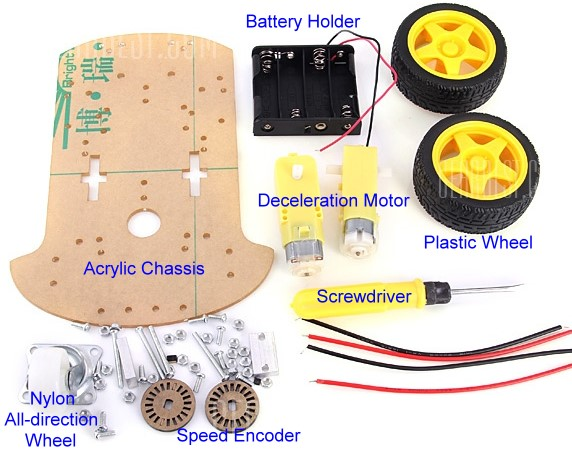 Picture of Car Chassis Kit