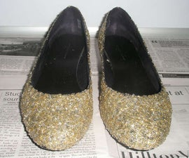 How to glitterize a pair of shoes