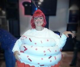 Cupcake Adult Halloween Costume