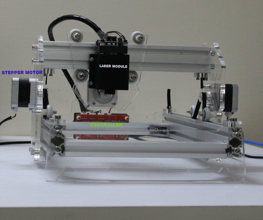 Picture of Overview of Laser Engraver/ Cutter :