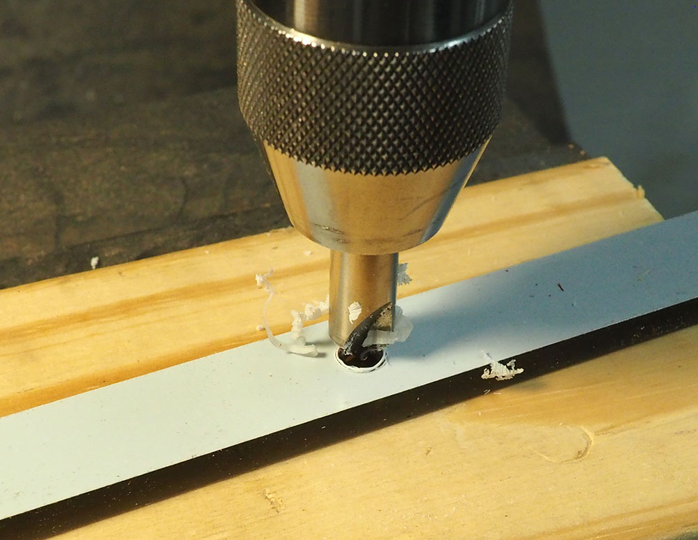 Picture of Countersink the Holes in the Rules