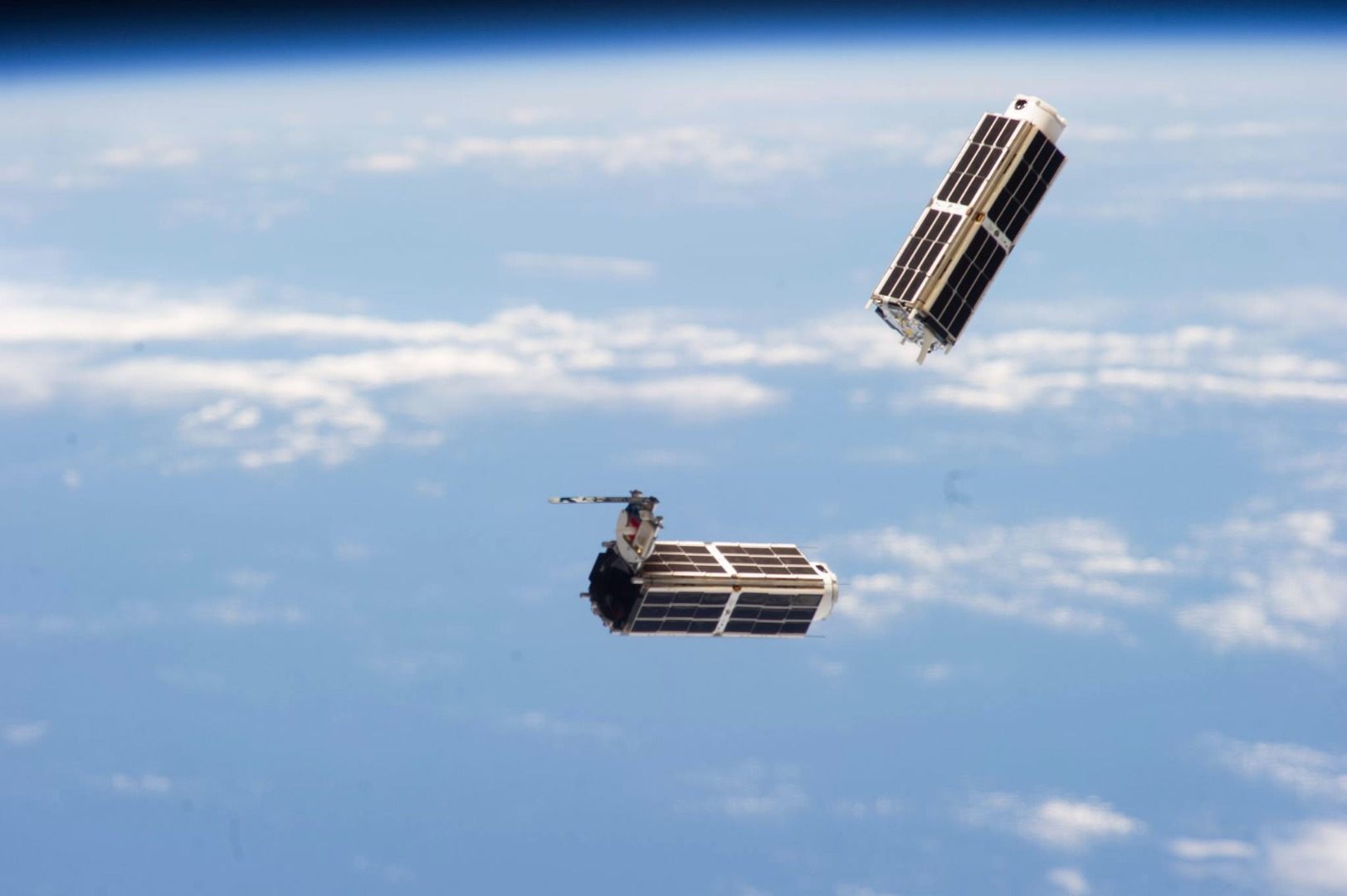Picture of Release Satellites From International Space Station