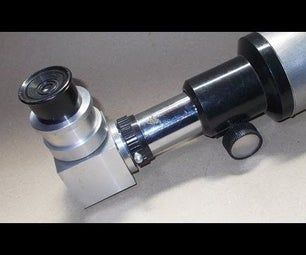 Homemade 90 Degree Erecting Prism Diagonal for DIY Telescope