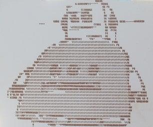 CNC ASCII Art
