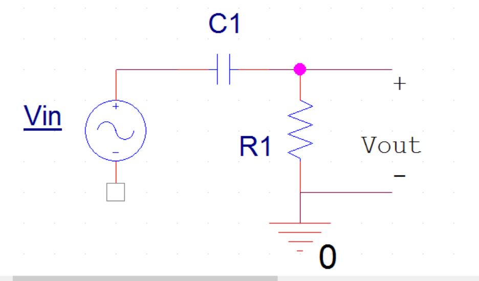 Picture of High-pass Filter