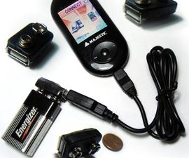 most little 9V USB portable charger (il più piccolo caricatore USB tascabile da 9v)