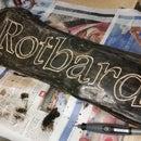 Wooden Log Sign