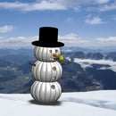 How to make a Solidworks/Real Snowman Jack O' Lantern
