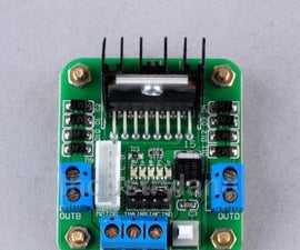 Arduino + L298 Motor Driver Integrated