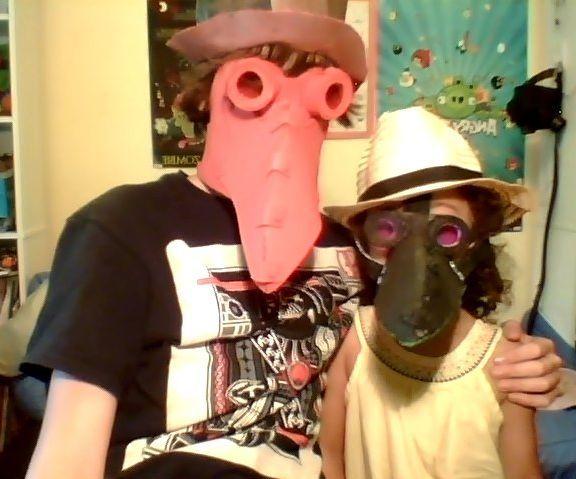 Plague Doctor Mask Tutorial