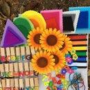 Quiet Time Book: Rainbow of Ideas