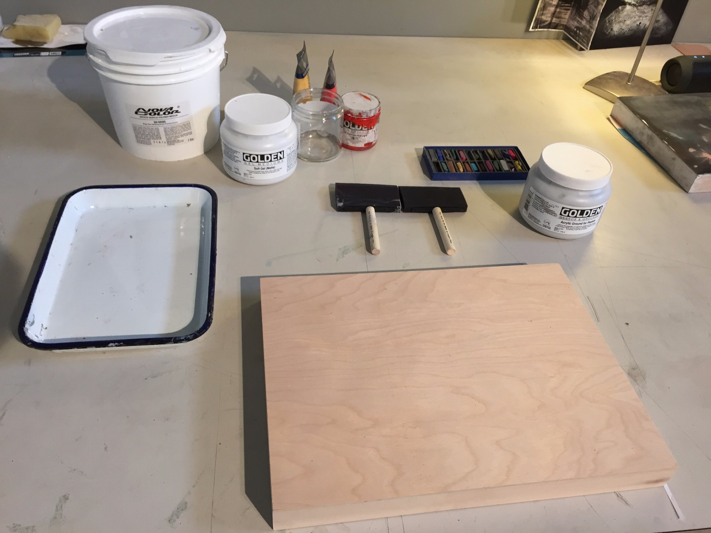 Picture of Prepparing Plywood Surface