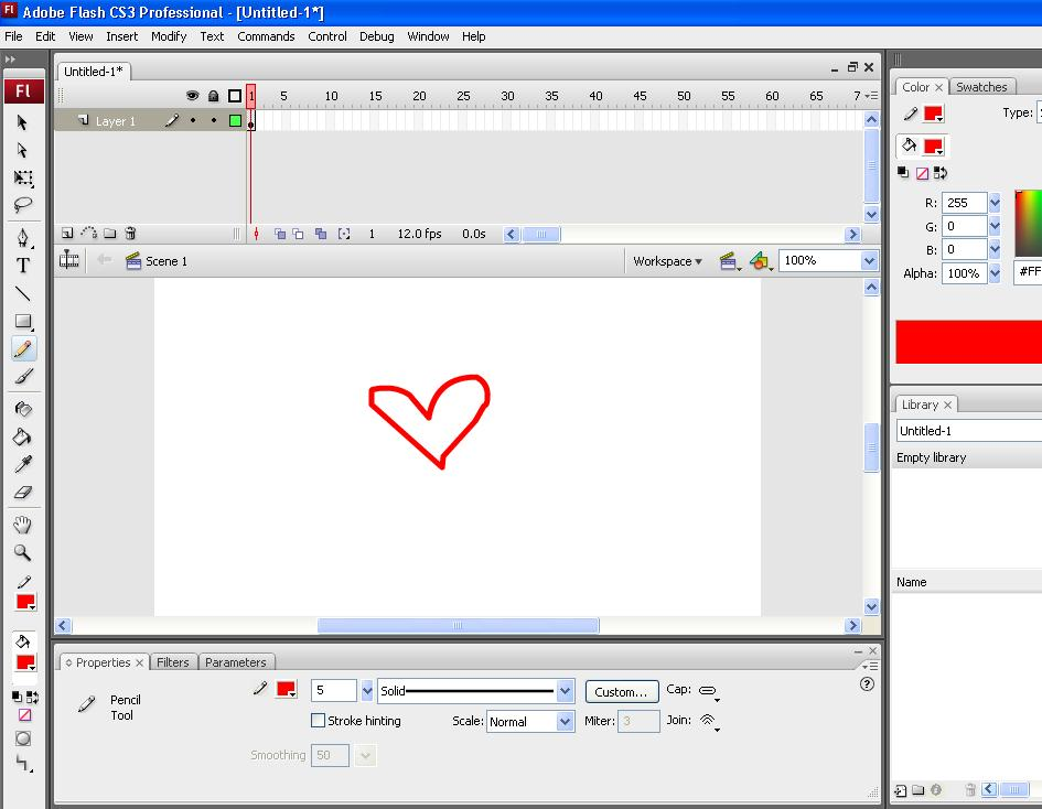 Picture of How to Make a Custom Cursor in Flash