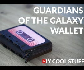 Guardians of the Galaxy Wallet With Card Holder