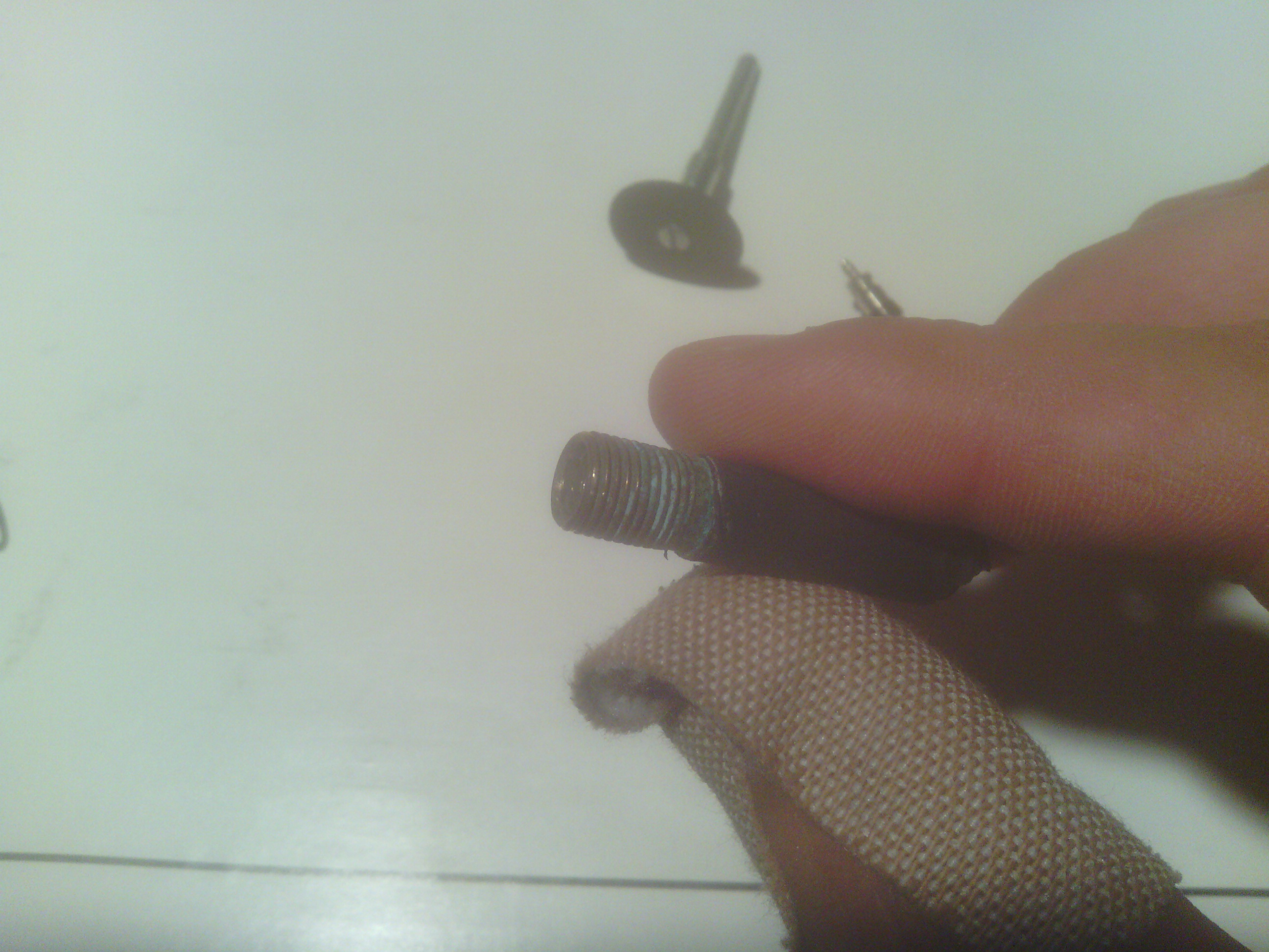 Picture of Make a Schrader Valve Core Removal Tool