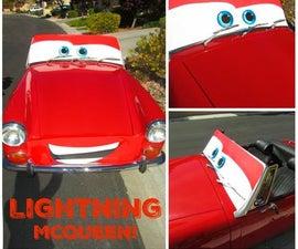 DIY Life Size Lightning McQueen