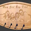 Family Coat Hook