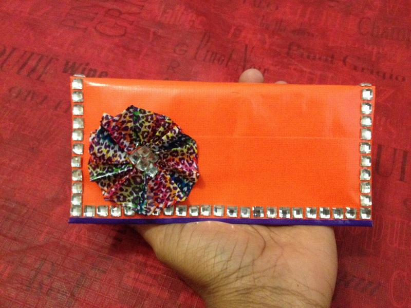 Picture of Duct Tape Foldover Clutch