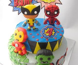 Fondant Marvel Superheroes